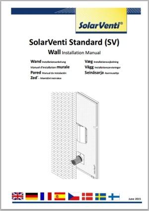 Wall mounting SV3 – SV30